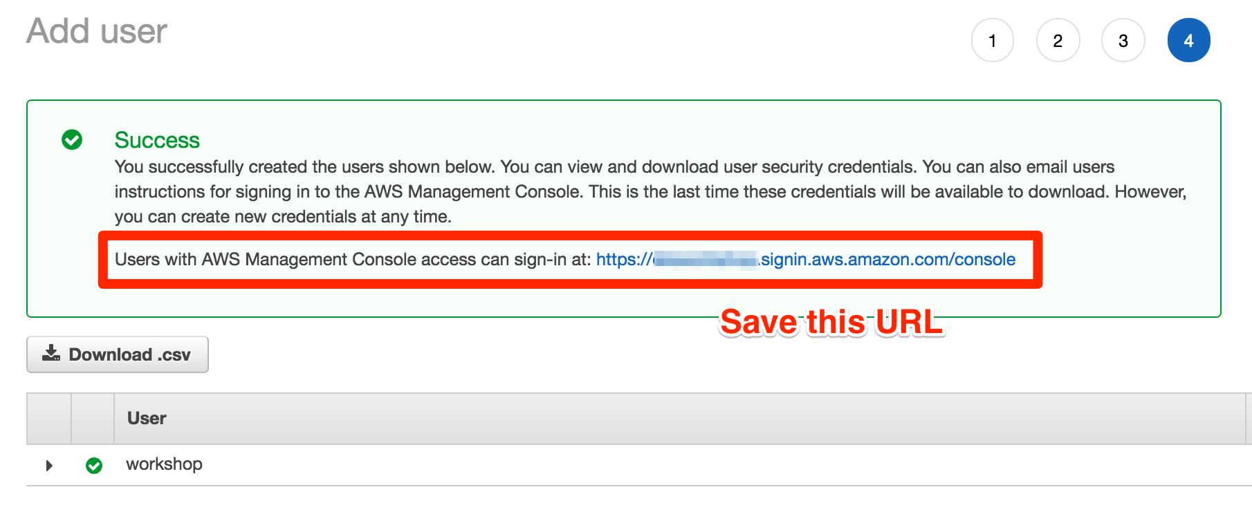 Create an AWS account :: Amazon ECS Workshop